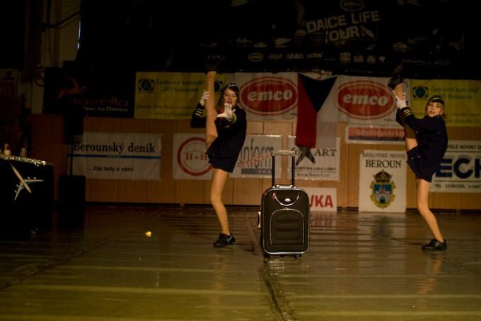 MČR street dance show v Berouně