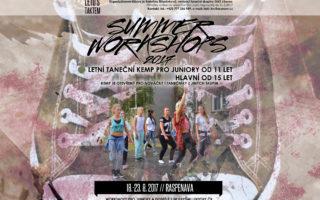 SUMMER WORKSHOPS 2017 – letní taneční kemp pro juniory a dospělé