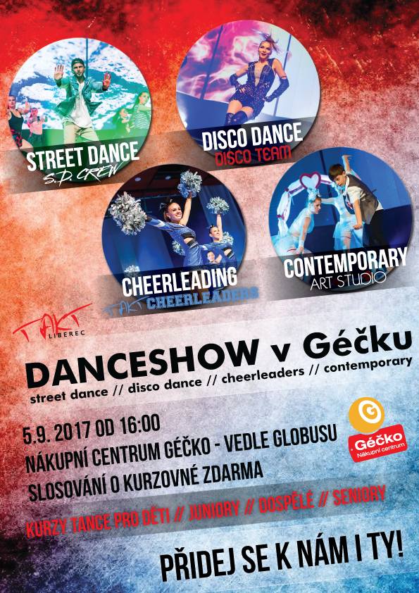 DANCESHOW V GÉČKU