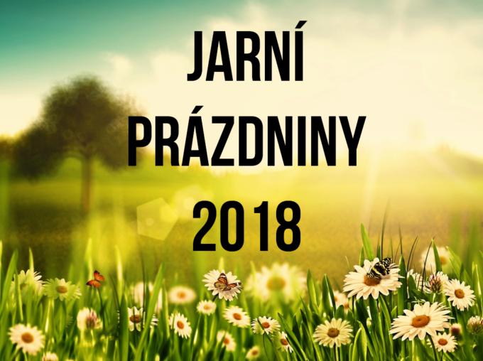 JARNÍ PRÁZDNINY 2018
