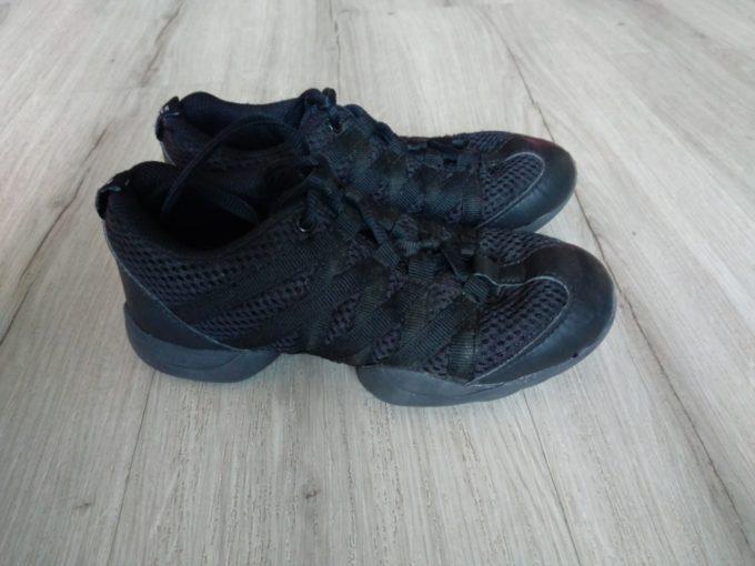 Taneční černé boty značky BLOCH