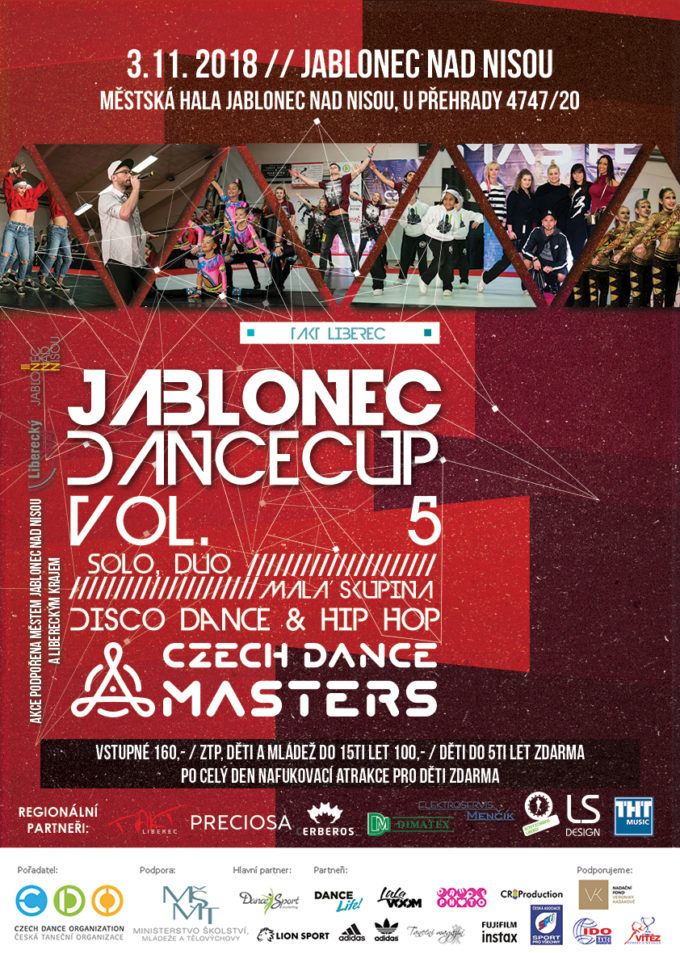 DANCE CUP JABLONEC VOL. 5