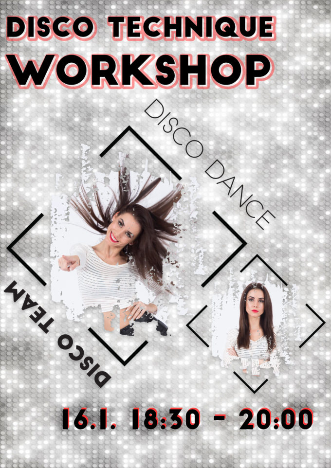 DISCO TECHNIQUE WORKSHOP