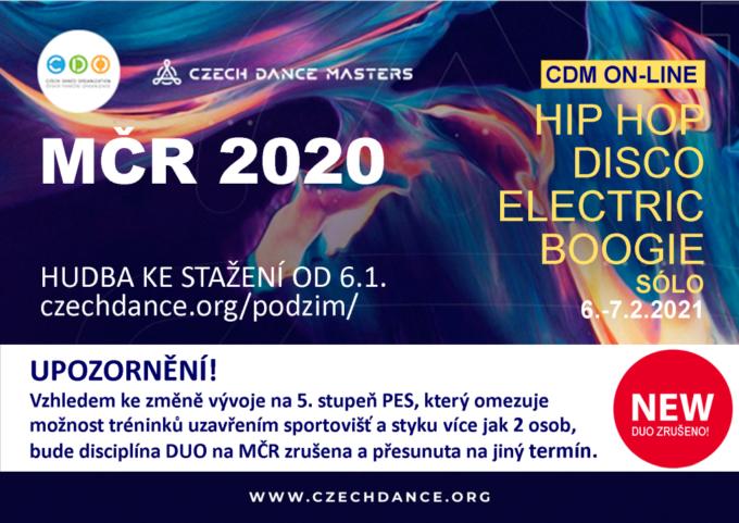 MISTROVSTVÍ ČESKÉ REPUBLIKY DISCO DANCE SÓLO 2020